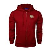 Champion Cardinal Fleece Full Zip Hood-DU