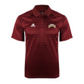 Adidas Climalite Cardinal Jaquard Select Polo-Arched U of Denver 2 Color Version