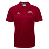 Adidas Climalite Cardinal Jacquard Select Polo-University of Denver 2 Color