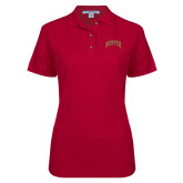 Ladies Easycare Cardinal Pique Polo-Primary 1 Color