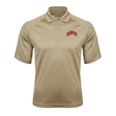 Vegas Gold Textured Saddle Shoulder Polo-Arched U of Denver 2 Color Version