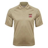 Vegas Gold Textured Saddle Shoulder Polo-Pioneer Movement