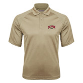 Vegas Gold Textured Saddle Shoulder Polo-Rugby