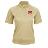 Ladies Vegas Gold Textured Saddle Shoulder Polo-National Champions 2015 Lacrosse