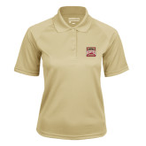 Ladies Vegas Gold Textured Saddle Shoulder Polo-Pioneer Movement
