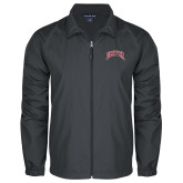 Full Zip Charcoal Wind Jacket-Primary 2 Color