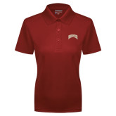 Ladies Cardinal Dry Mesh Polo-Arched Denver 2 Color Version