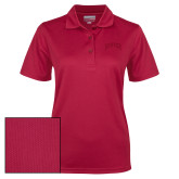 Ladies Cardinal Dry Mesh Polo-Primary 2 Color