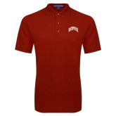 Cardinal Easycare Pique Polo-Arched U of Denver 2 Color Version