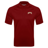 Cardinal Textured Saddle Shoulder Polo-Arched Denver 2 Color Version