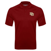 Cardinal Textured Saddle Shoulder Polo-DU