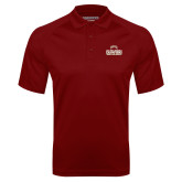 Cardinal Textured Saddle Shoulder Polo-2017 NCAA Division I Mens Hockey Champions