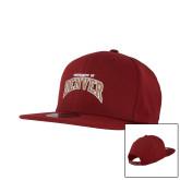 New Era Cardinal Diamond Era 9Fifty Snapback Hat-University of Denver 2 Color