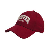 Cardinal Heavyweight Twill Pro Style Hat-Alumni