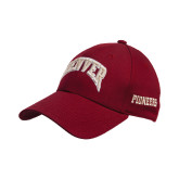 Cardinal Heavyweight Twill Pro Style Hat-Arched Denver 2 Color Version