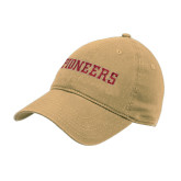 Vegas Gold Twill Unstructured Low Profile Hat-Pioneers