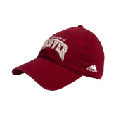 Adidas Cardinal Slouch Unstructured Low Profile Hat-Arched U of Denver 2 Color Version