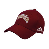 Adidas Cardinal Structured Adjustable Hat-University of Denver 2 Color