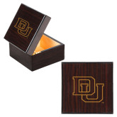 Wooden Jewelry Box-DU Engraved