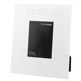 White Metal 5 x 7 Photo Frame-University of Denver Engraved, Personalized