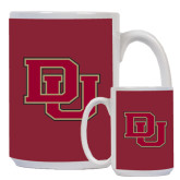 Full Color White Mug 15oz-DU