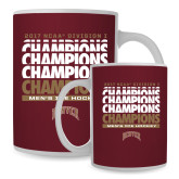 Full Color White Mug 15oz-2017 NCAA Division I Mens Hockey Champions