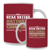 Full Color White Mug 15oz-2018 NCAA Skiing National Champions