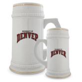 Full Color Decorative Ceramic Mug 22oz-University of Denver