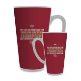 Full Color Latte Mug 17oz-2018 NCHC Ice Hockey Champions