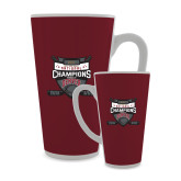 Full Color Latte Mug 17oz-2017 Mens NCAA Hockey National Champions