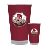 Full Color Glass 17oz-2015 National Champions