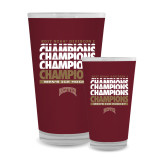 Full Color Glass 17oz-2017 NCAA Division I Mens Hockey Champions