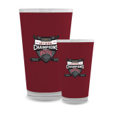 Full Color Glass 17oz-2017 Mens NCAA Hockey National Champions