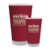 Full Color Glass 17oz-2018 NCAA Skiing National Champions