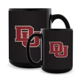 Full Color Black Mug 15oz-DU