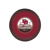 Round Coaster Frame w/Insert-2015 National Champions
