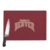 Cutting Board-Arched University of Denver