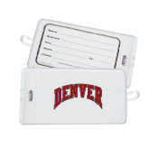 Luggage Tag-Arched Denver