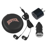 3 in 1 Black Audio Travel Kit-Arched Denver