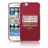 iPhone 6 Plus Phone Case-2017 NCAA Division I Mens Hockey Champions