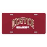 License Plate-Denver Grandpa