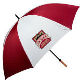 62 Inch Cardinal/White Umbrella-Pioneer Movement