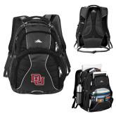 High Sierra Swerve Black Compu Backpack-DU 2 Color