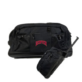 Urban Passage Wheeled Black Duffel-Arched Denver 2 Color Version