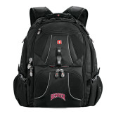 Wenger Swiss Army Mega Black Compu Backpack-Arched Denver 2 Color Version