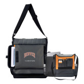 Impact Vertical Grey Computer Messenger Bag-Arched Denver 2 Color Version, Personalized