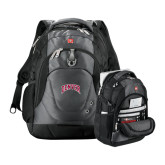 Wenger Swiss Army Tech Charcoal Compu Backpack-Arched Denver 2 Color Version