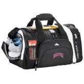 High Sierra Black 22 Inch Garrett Sport Duffel-Arched Denver 2 Color Version