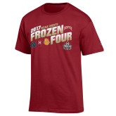 Cardinal 2017 NCAA Mens Frozen Four T-Shirt-