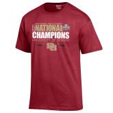 Gear for Sport Cardinal 2017 NCAA Mens National Championship T-Shirt-